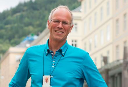 FÅR NY EIER: Ole Kristian Johannessen, som leder Basale i Bergen, har fått ny eier. (Foto: Morten Wanvik)