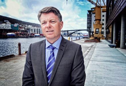 BRA HØST: Lars Morten Kyte tror høsten kommer til å bli bra. (Foto: Torgeir Hågøy)