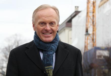 SLUTTER: Stein Klakegg har sluttet som regiondirektør i Obos Stor-Bergen.
