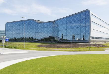 NY LEIETAKER: IT-selskapet Cegal flytter inn på 4300 kvadratmeter i Vestre Svanholmen 4. (Foto: Forussamarbeidet)