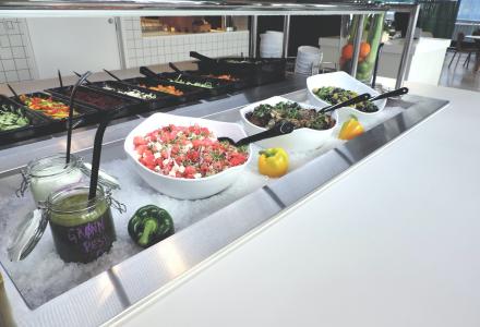 SKAL VOKSE: Fazer Food Services er store i Oslo og Stavanger, men i Bergen er de fortsatt ganske små. Det vil de nå gjøre noe med. (Foto: Fazer Food Services)