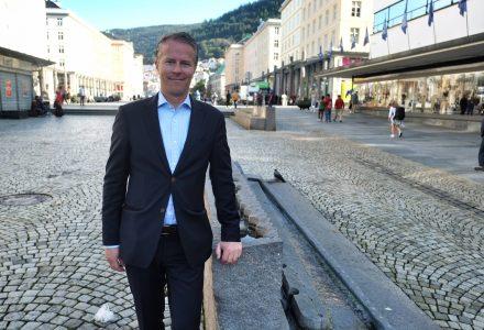 Daglig leder i Storemyra Holding, Pål Selboe Valseth, har stor tro på at de får realisert nybyggprosjektet. (Foto: Torgeir Hågøy)