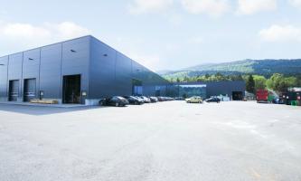 SOLGT: Midgard Gruppen har kjøpt Hylkje Næringspark av EGD Property. Prisen ligger på mellom 50 og 60 millioner kroner. (Foto: EGD Property)
